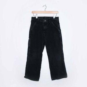 Vintage Wrangler kids carpenter cargo jeans husky